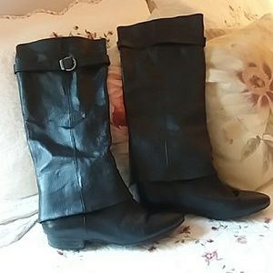 🌹Chinese Laundry tall black boots